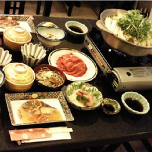 【夕食一例】心を込めてお作りする「和菜田舎料理」をお楽しみいただけます。