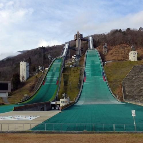 *【周辺観光】白馬ジャンプ競技場/白馬村で人気の観光施設です