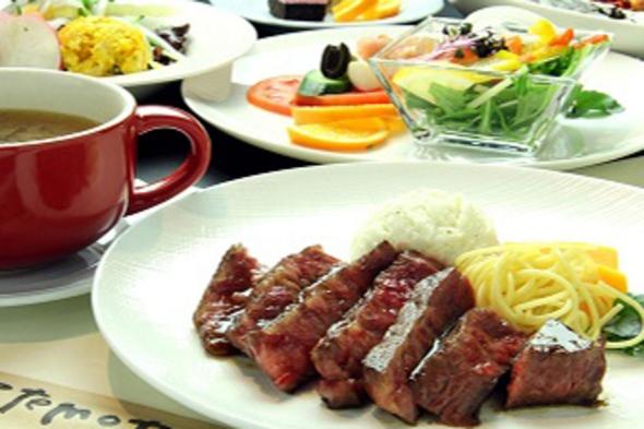 美食とお酒のコラボ★洋食7品♪メインは那須野が原牛ステーキとワイン飲み放題70分付き!