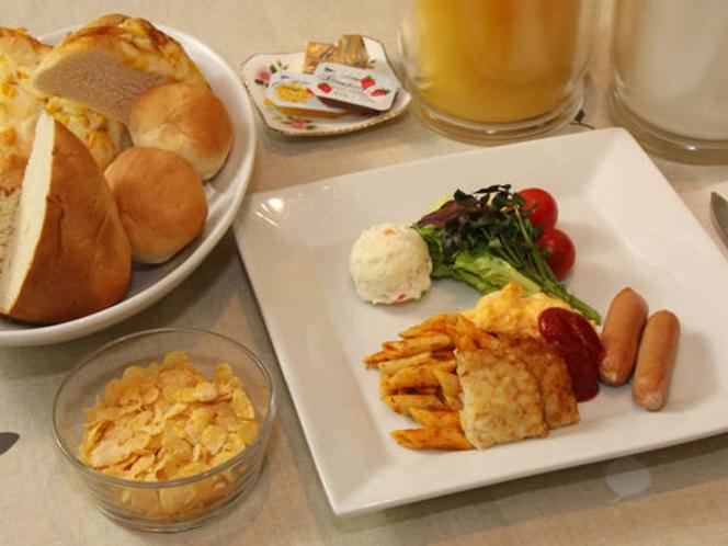 ■朝食プレート