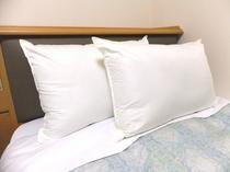無料貸出用高い枕