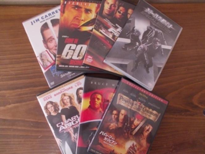 DVD(無料でお貸出し致します)