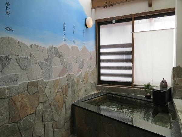 貸切専用「石のおやま畳風呂」(一人用サウナ付)(無料) new!