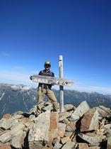 山頂からの景色は最高!