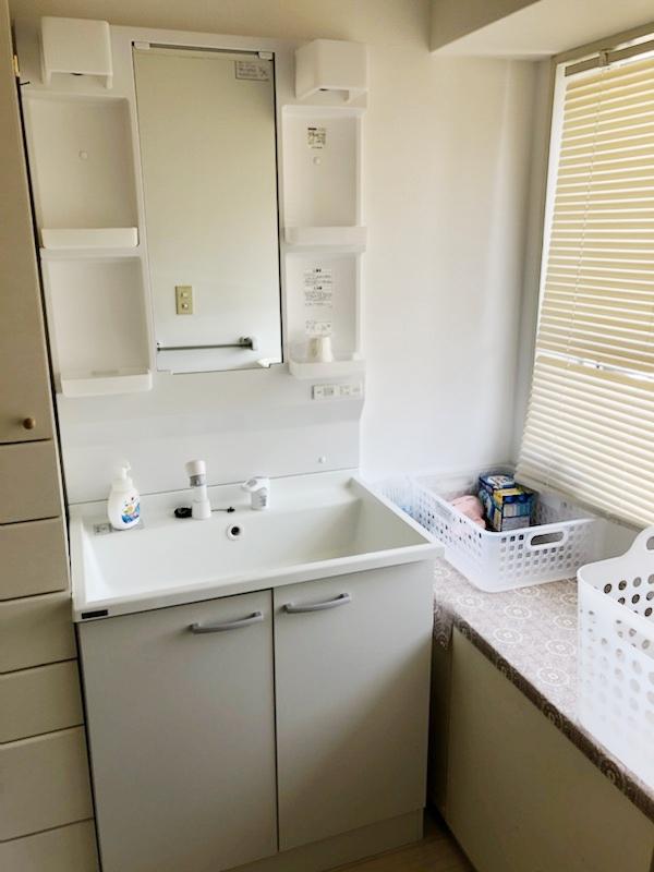 502号室 洗面所