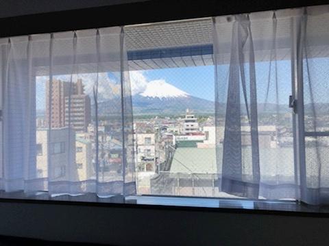 501号室からの富士山