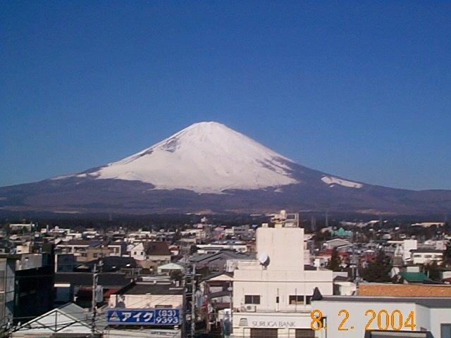 富士山の全景