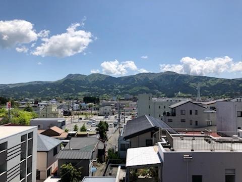 502号室 ベランダからの眺め♪箱根連山