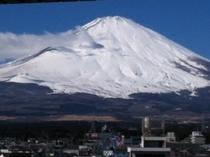 御殿場冬季富士山