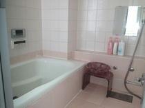 シャワー付460リッター大型風呂