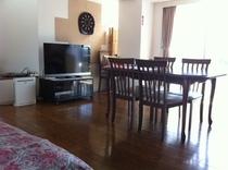 全室ペット同宿泊可能の16畳リビング&6畳和室