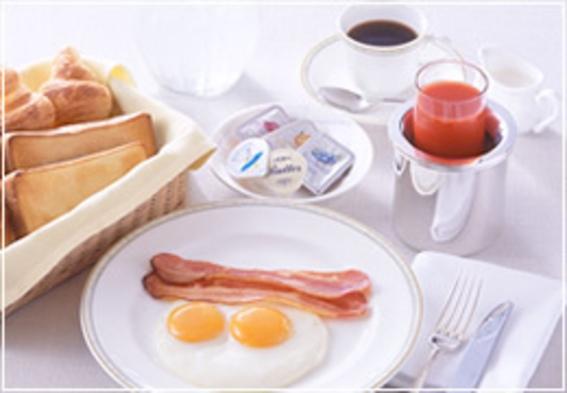 【プライベートタイム】ルームサービスとともに優雅な朝を(朝食付き)