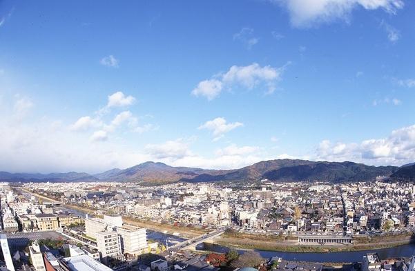 【RESIDENCE】5連泊以上限定プラン 東山・鴨川側のお部屋がさらにお得!(食事なし)