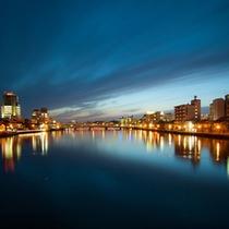 ●大橋川の夜景