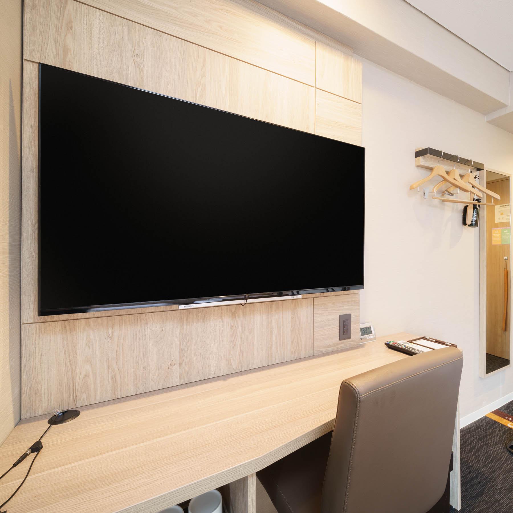 50インチ大型液晶テレビ全室完備★2019年3月20日リニューアル