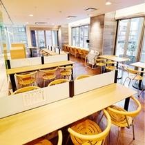 2階ロビー兼朝食会場