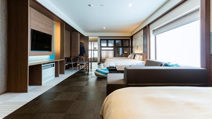 【露天風呂付き客室】プライベート空間で気兼ねなく。天然温泉100%の自家源泉をお部屋でも
