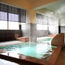 大浴場(女性)/肌に優しい「湯畑源泉」を贅沢にかけ流し!