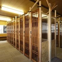 【スキー・スノボ乾燥室】鍵付きで安心のロッカータイプの乾燥室です