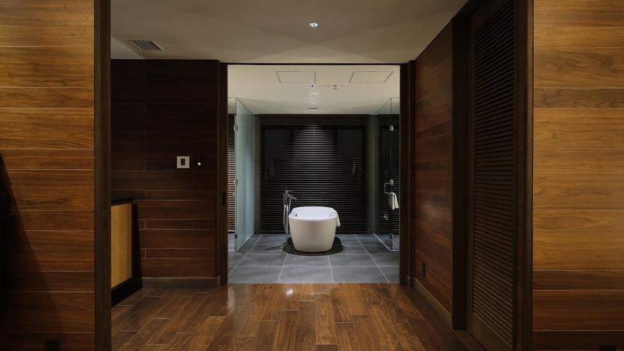 プール付きヴィラスイート バスルーム