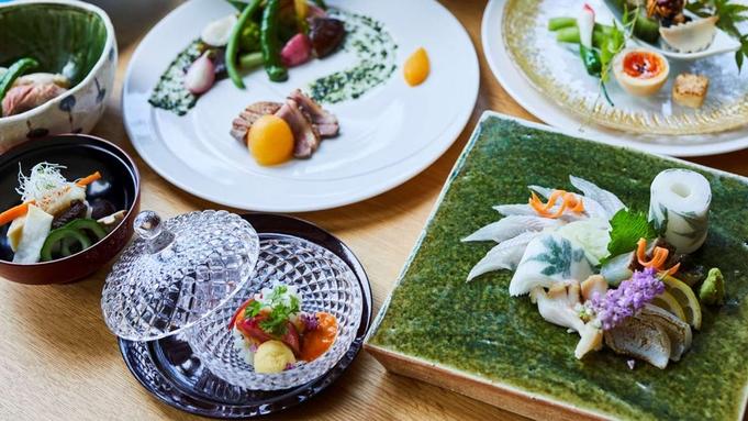 【夏季限定・贅会席】メイン料理が高級魚「虎魚」の生千里と絶品広島牛ヒレステーキにWグレードアップ!