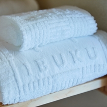 IBUKUのロゴが入ったタオルです。