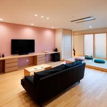 【桜】可愛らしいテイストのお部屋です。
