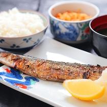 【★無料夕食★焼き魚定食】