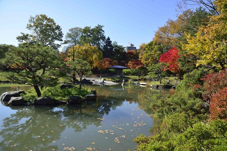 中島公園内【日本庭園】