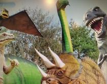 恐竜公園 車15分