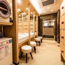 大浴場 更衣室