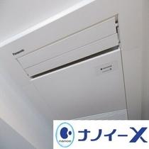 「ナノイーX」搭載エアコン