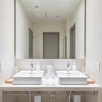 バンク6 洗面スペース(最大6名様まで宿泊可能)