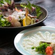 【新鮮素材】新鮮なお魚の数々をお楽しみ下さい