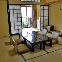 旧館和室8畳客室(一例)
