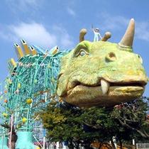 三井グリーンランド:全長1497mもある恐竜コースターが有名!1日中あきることなく遊びつくそう!