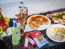 【サンライズスイート】徒歩5分のスーパーサンエー(09:00~23:00)で買い出し、お部屋飲み