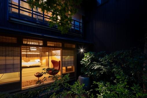 贅沢な庭を独り占め 茶屋101 ジュニアスイート