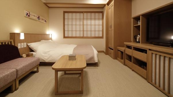 本館 和ダブル【シャワー付】◇19平米(和ベッド1台)