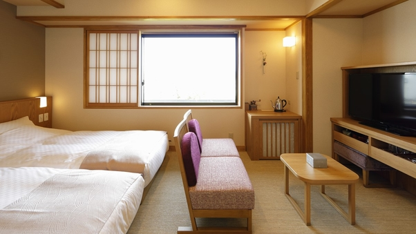 本館 和トリプルDX【シャワー付】◇35平米(和ベッド3台)