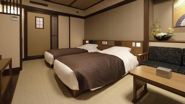 敷島館 和ツイン【バス付】◇27平米(和ベッド2台)