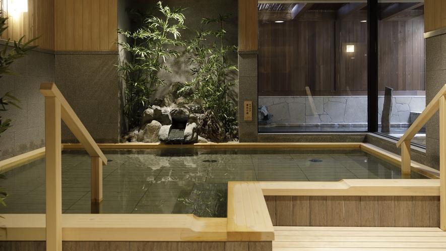 【大浴場】内湯