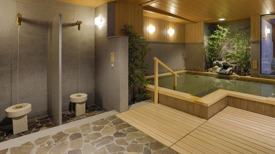 【大浴場】打たせ湯