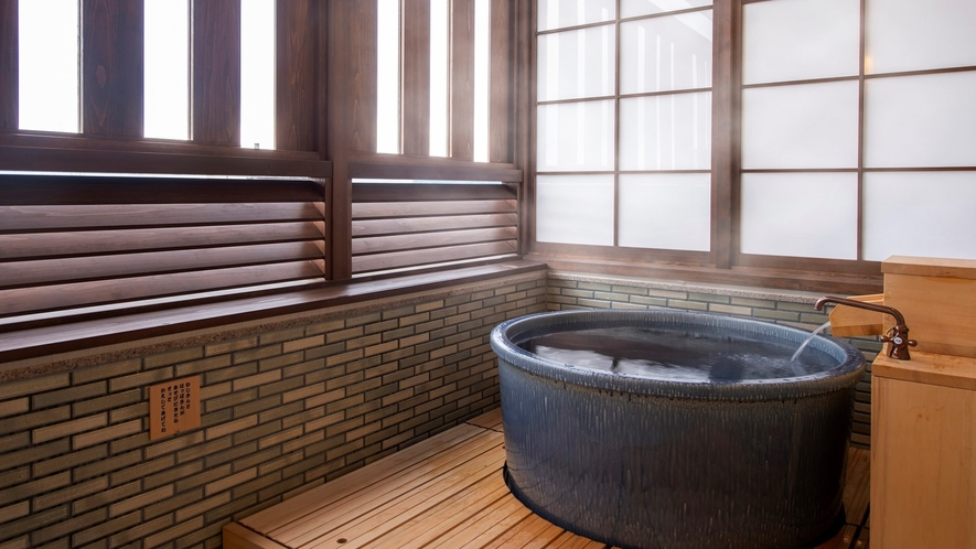 【本館】露天風呂付和洋室 客室露天風呂