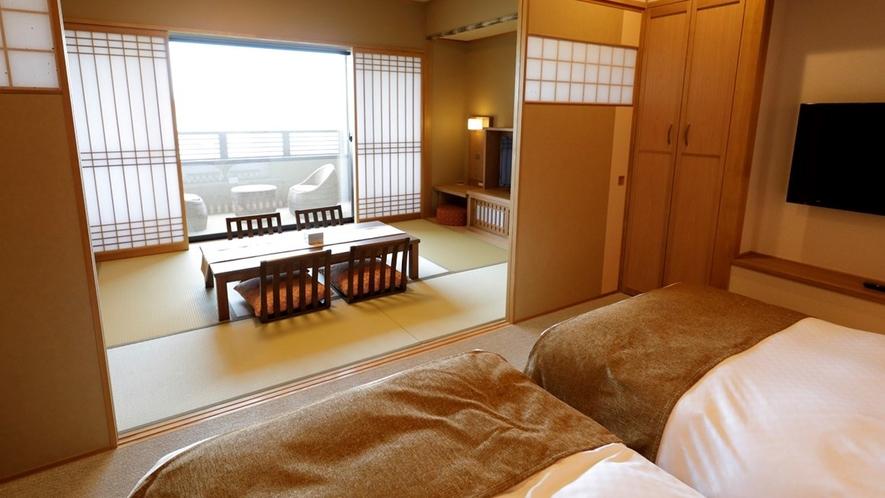 【本館】露天風呂付和洋室