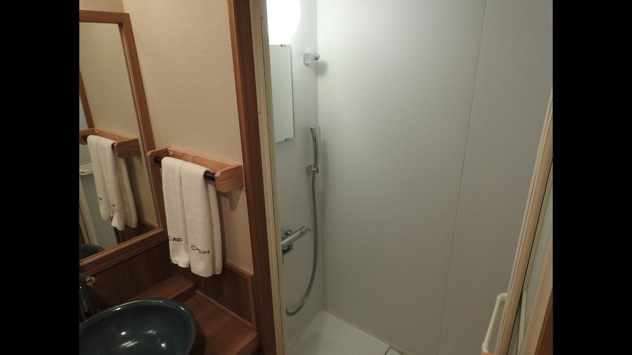 【敷島館】和ツイン シャワーブース一例