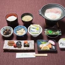 *朝食一例。バランスの取れた和朝食で朝から元気をチャージ!