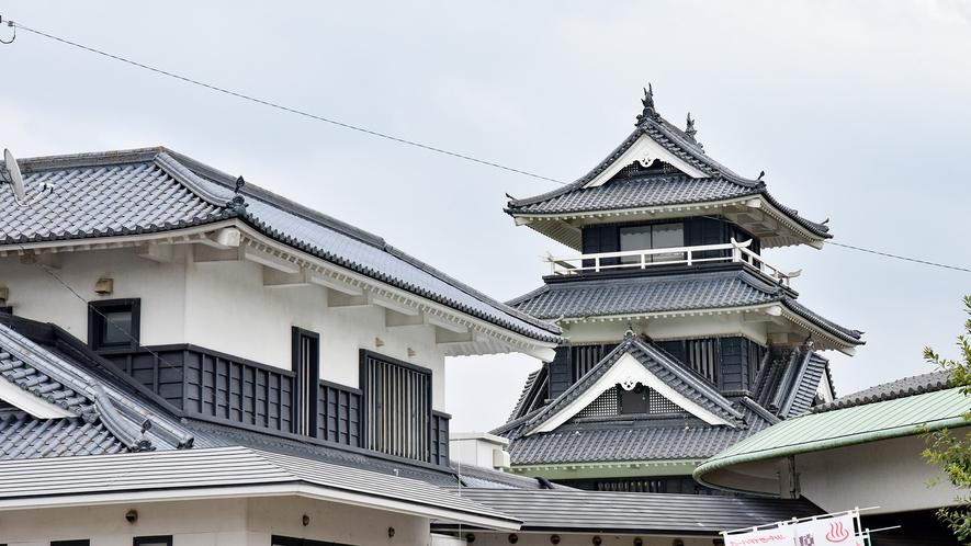 *【外観】当館はお城を模した特徴的な外観です。目印にお越しください♪