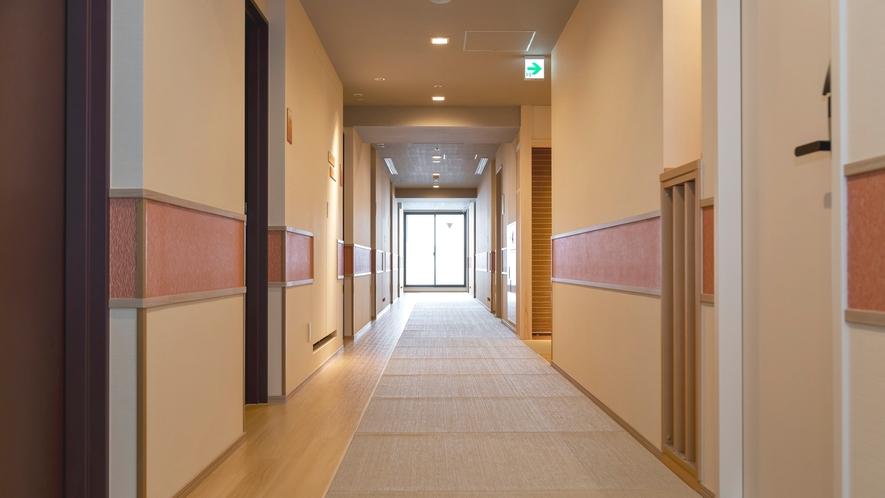 【館内設備◆廊下】