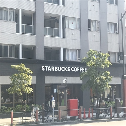 【銀座線:④】 スタバが見えたら「浅草一丁目交差点」を右に曲がる